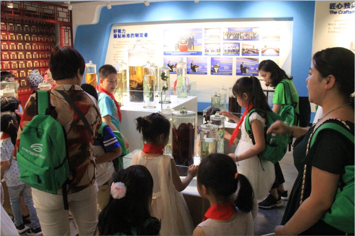学生参加好视力举办公益爱眼护眼活动,体会好视力的重要性,过不一样的儿童节