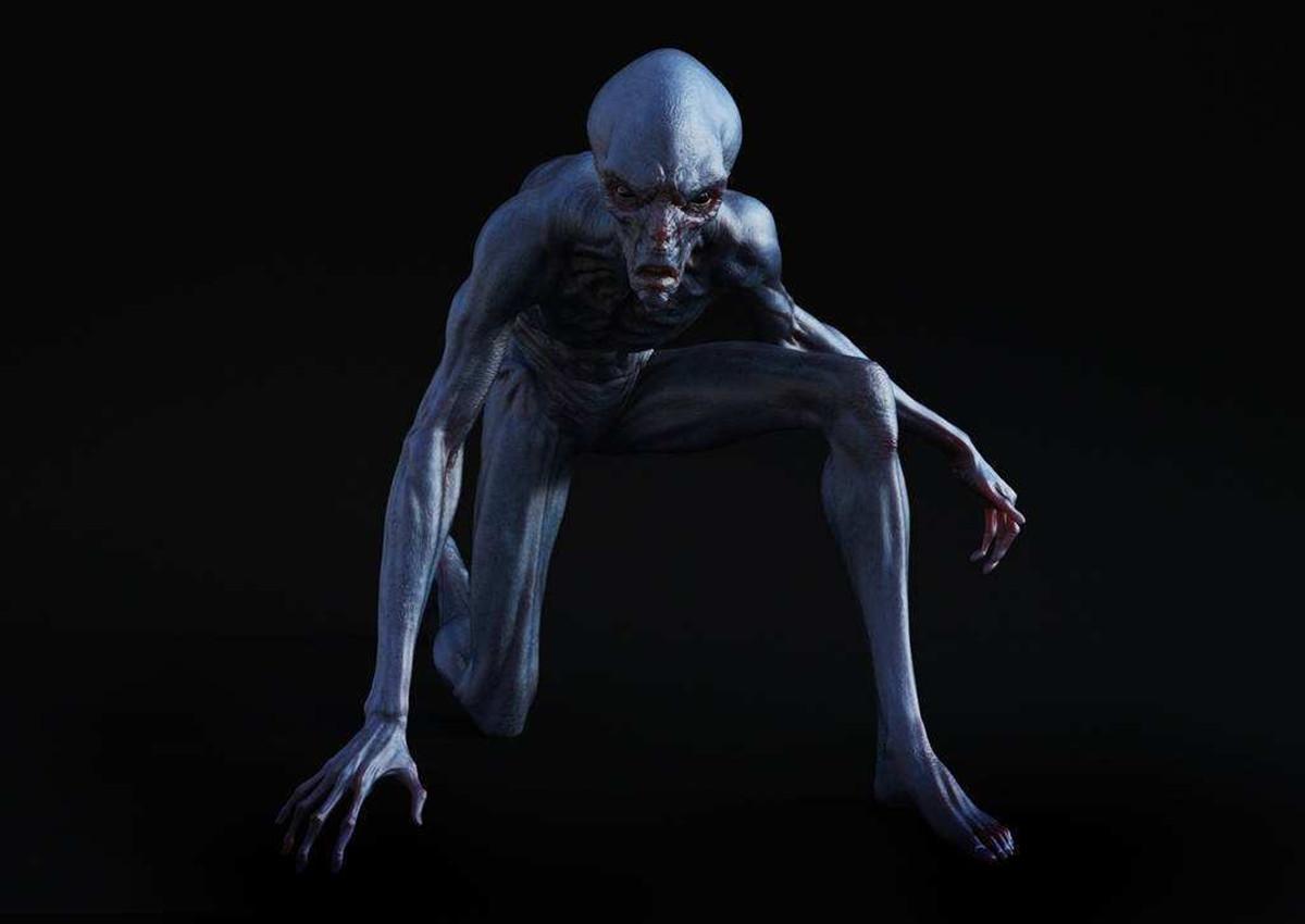 外星人�9o#��._外星生物长什么样子?科学家模拟出外星人的样子,半生物半机械