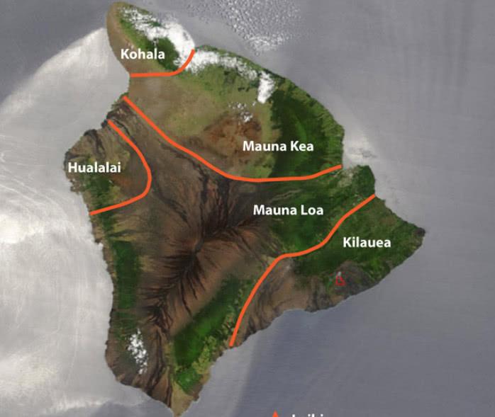 夏威夷火山喷发岩浆蔓延数十米(图)