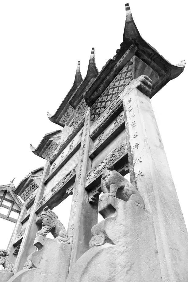 隆昌石牌坊, 传承一座城市的灵魂