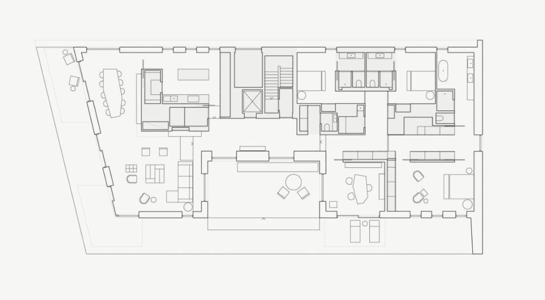Molteni&C创意心得设计的家,一步步用水泥让总监设计结语字体图片