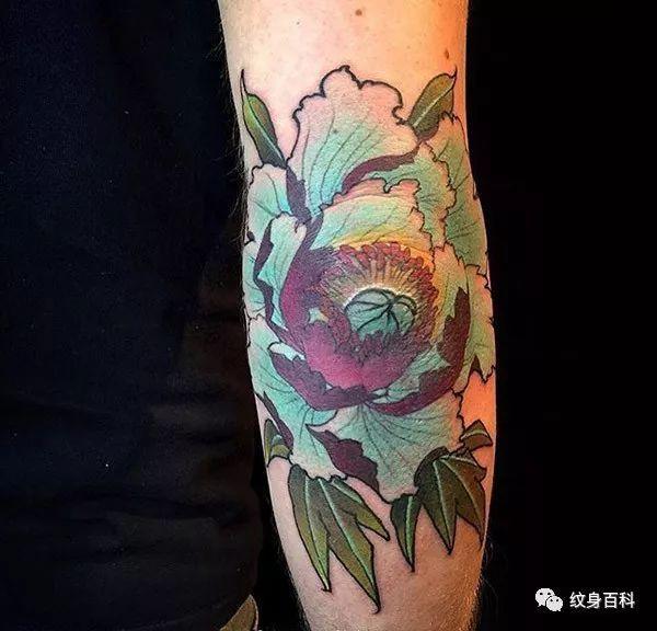 传统纹身花卉