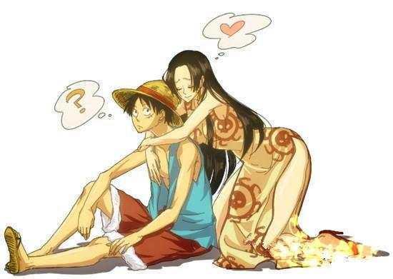 幽默海贼王: 路飞和女帝的爱情故事, 爱情就应该是这样子的!图片