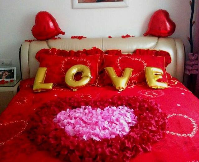 结婚的床_结婚时婚床布置大全,最后一个太有才了