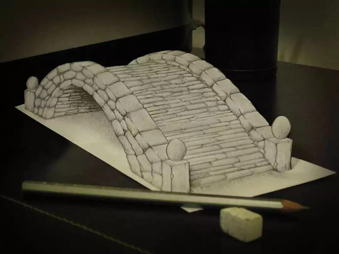 惊叹 大师笔下的铅笔画 3D又魔幻的佳作图片