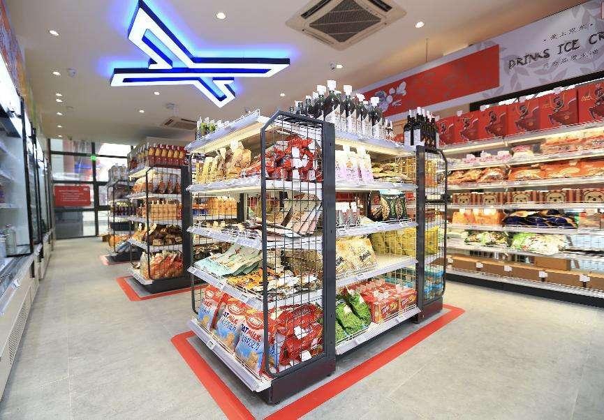 数博会除了京东x无人超市,还有远景达无人零售店