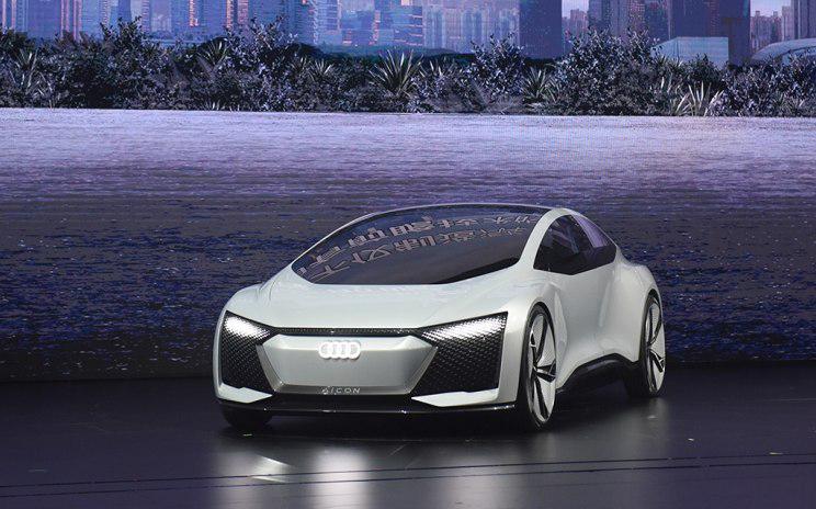奥迪Aicon首发亮相 纯电驱动/配自动驾驶功能