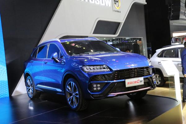 中大型SUV/12月上市 北汽幻速C60首发亮相