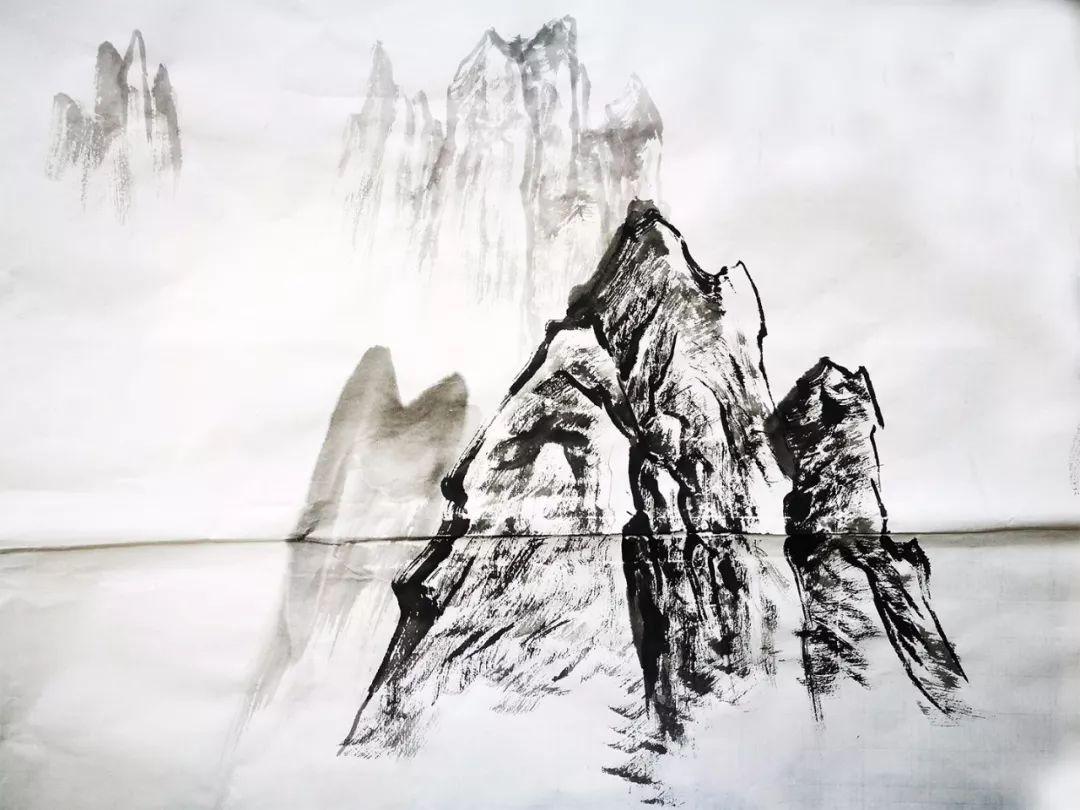 《环球物理》推出16集《中国山水画技法常数》美术节目教学表初中图片
