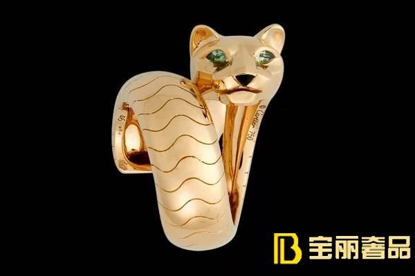 """卡地亚珠宝品牌精选""""豹系列戒指大全""""之一"""