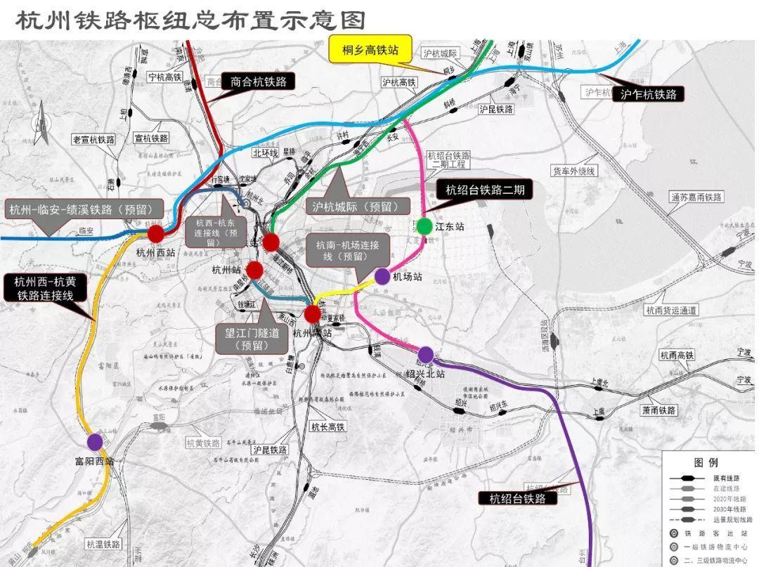 萧山机场至杭州南站_联络线(杭州南站至萧山机场)长度约15km,全线设车站4座(桐乡,江东