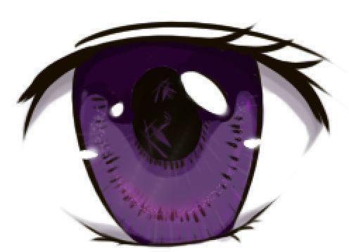 第十一篇:二次元眼睛的画法丨阿汤哥美术教程