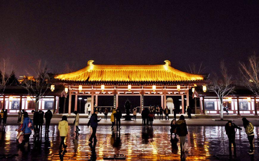 唐朝时的皇家园林,14年前重建成了西安知名旅游景点