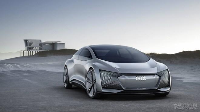 奥迪Aicon概念车发布 搭载5级自动驾驶
