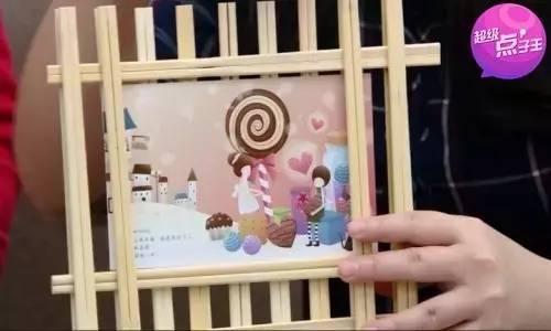 幼儿园创意手工,一次性筷子的美丽翻身记图片