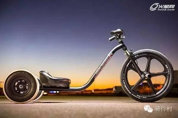 专门玩漂移的自行车,你肯定没见过!
