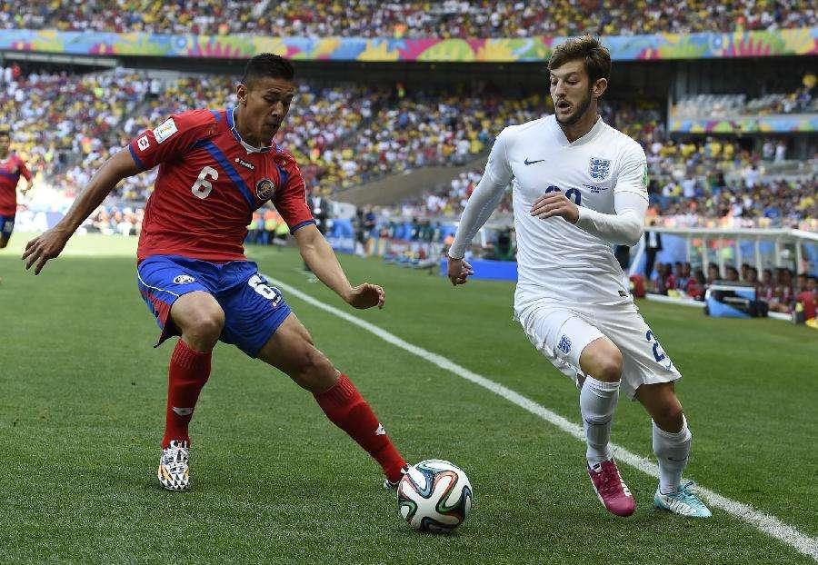 友谊赛:英格兰VS哥斯达黎加