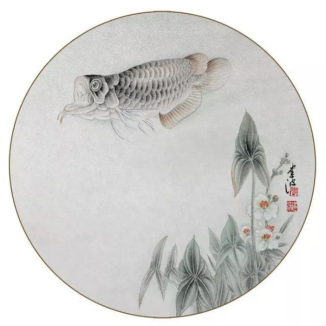 鲤鱼的工笔与写意画法,建议收藏!图片