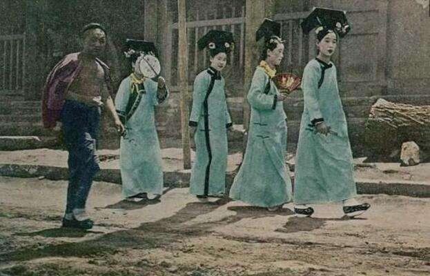 清朝灭亡后,宫女下场最惨,甚至没人敢娶,背后三大原因图片