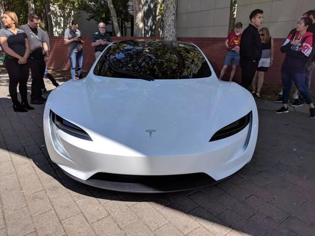 特斯拉全新Roadster超级跑车 新车图曝光