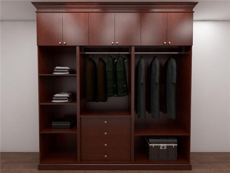 整体衣柜内部结构尺寸设计及空间分类