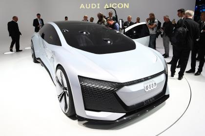 奥迪将于2021年推出首个自动驾驶车队 基于Aicon概念车