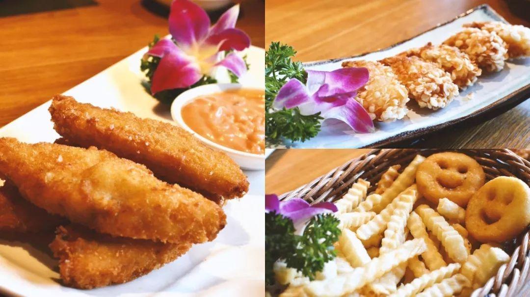 除了奥尔良鸡翅,还有非常多款值得一试的小吃,有炸的酥脆咸香的薯条图片