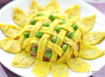 用剩饭做了这道向日葵喷香炒饭,孩子再也不吃零食了