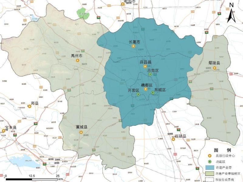 许昌地区地图全图
