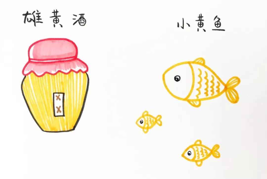 只知道端午节吃粽子 赛龙舟 却不知原因 简笔画小插图告诉你