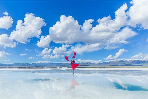 静心高考,爸妈和茶卡盐湖一起为你守候、为你等待!