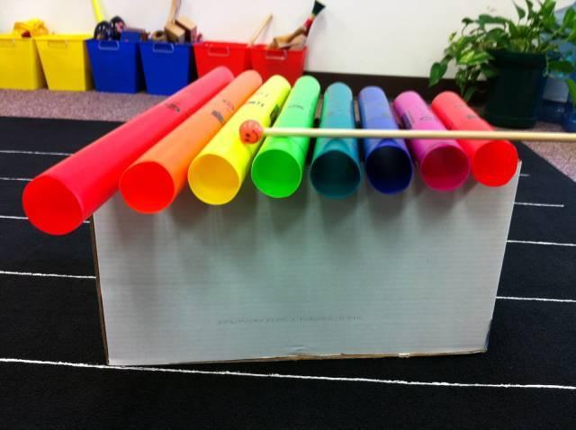 【创意手工】幼儿园17种乐器diy手工制作及新鲜玩法图片