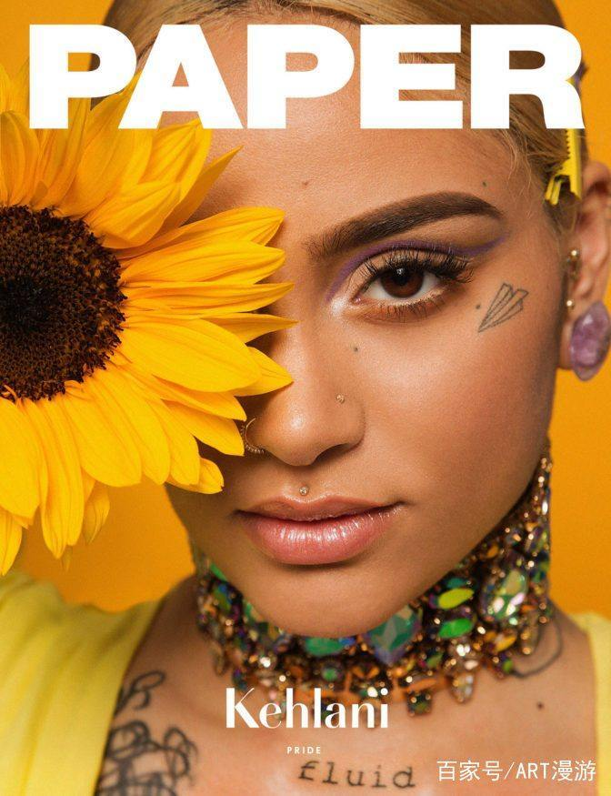 Kehlani在纸质杂志的最新期刊中熠熠生辉