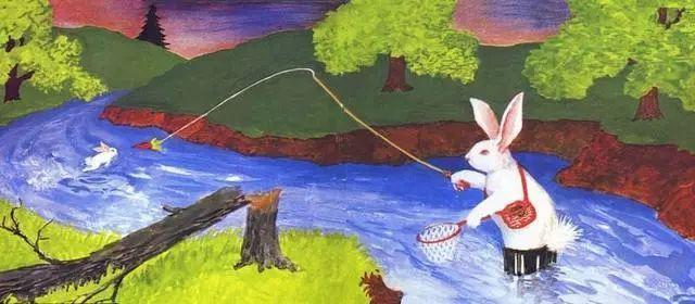 无论小兔子是变成河里的一条鱼