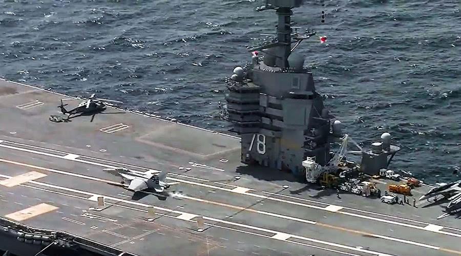 航母舰长_美航母舰长感叹:这世上也只有两国能击沉我们但亚洲不行