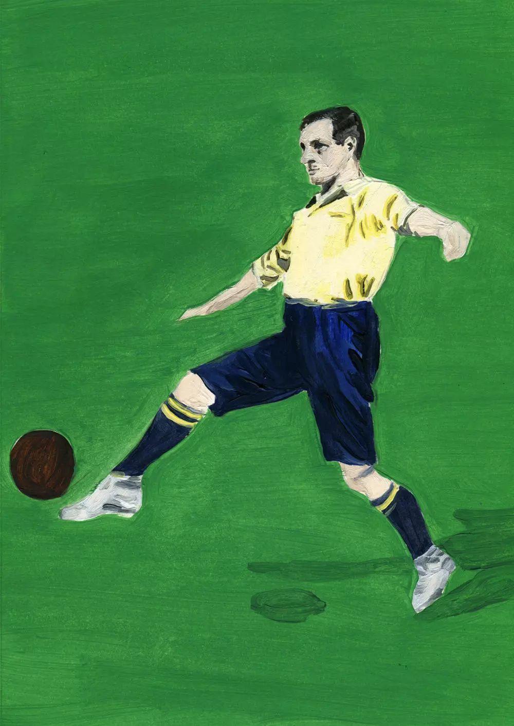 创刊号《 the england issue 》的封面拍了阿森纳年轻的左后卫吉布斯.