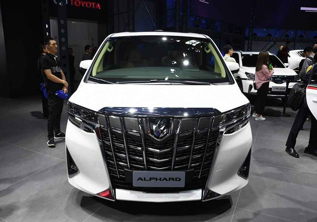 """加价神车""""丰田埃尔法又创历史新高落地价比奔驰S级还贵"""