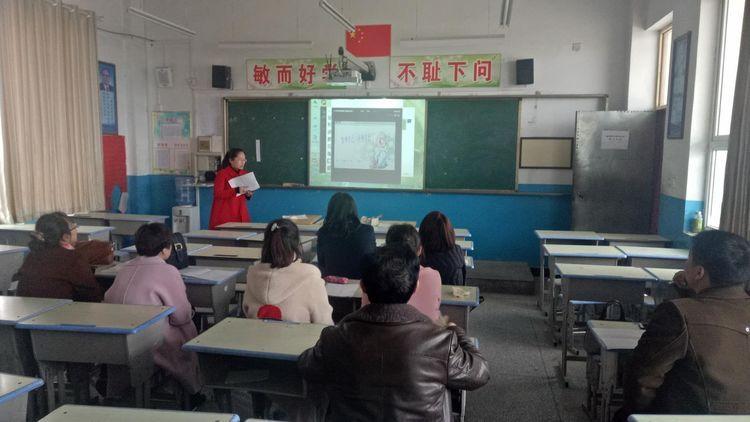 临猗县双塔初中:有你的双中更美好初中美术教育研究论文图片