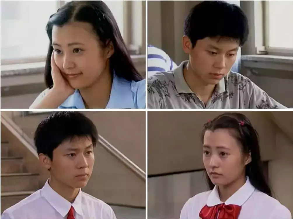 △1990年电视剧〔16岁的花季〕,内地校园青春剧开端图片