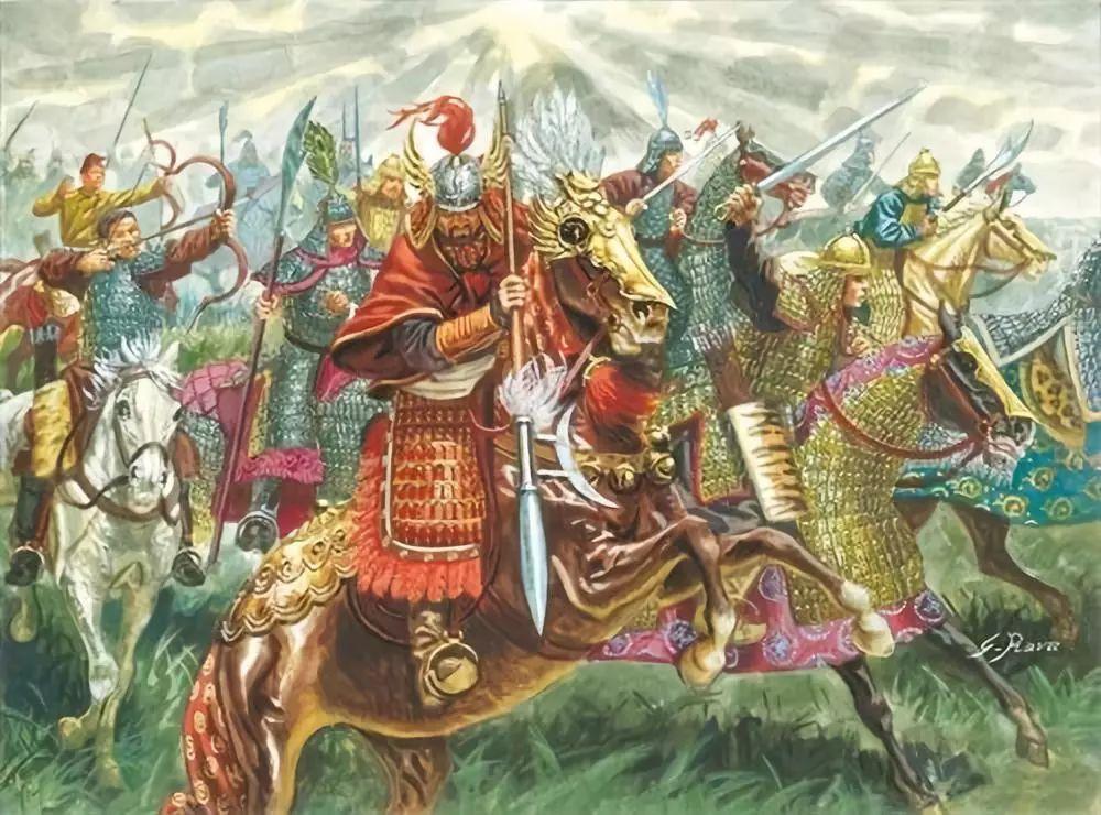 美女骑兵先锋_郭药师的汉军骑兵成为了金军一路南下的先锋 南下的金军重骑兵形象
