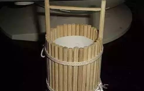 幼儿园创意手工,一次性筷子的美丽翻身记