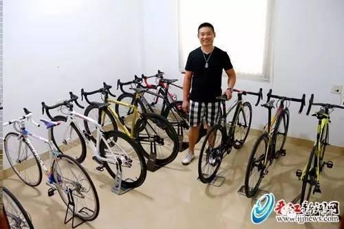 真NB!十余辆自行车都是全球限量款