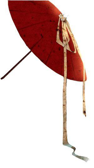 娱乐 正文  本周的手绘中国风 小朋友们将要绘制的 是一把油纸伞 一把