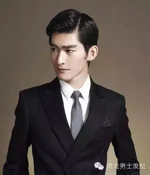 三十岁男人偏分头发型 打造帅气时尚潮男