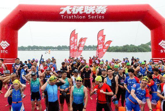 2018第三届常熟尚湖国际铁人三项赛正式打响  铁人们共赴一场体育盛宴