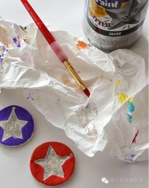 奖牌送爸爸—幼儿园父亲节手工制作教程