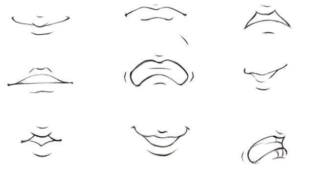 第十三篇 嘴巴的画法丨阿汤哥美术教程