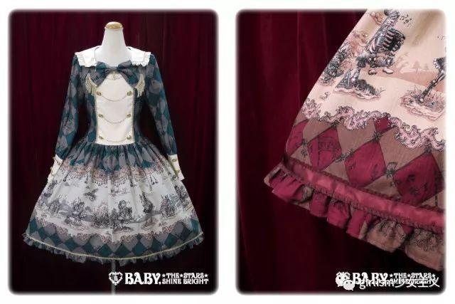 lolita盘点 | 音乐主题小裙子,裙摆上的优美旋律图片