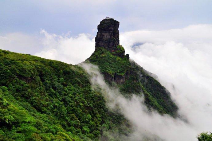 六月去梵净山观云雾缭绕之美、享亚木沟之静心凉!
