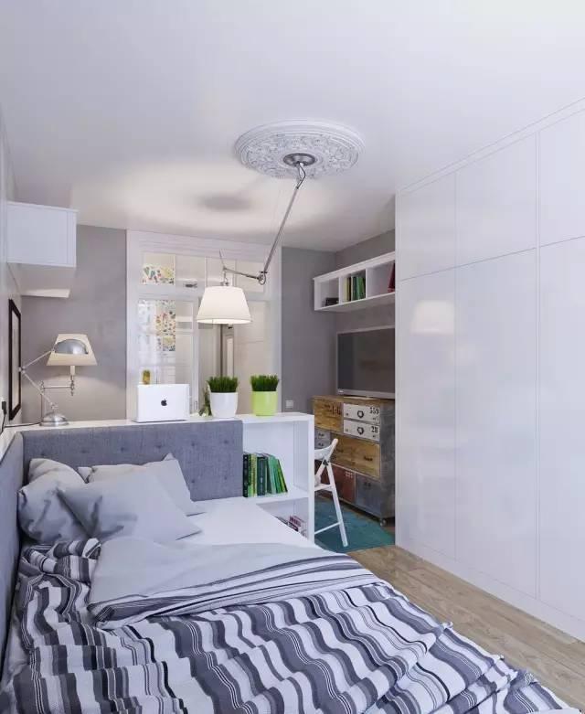 适合一线城市的单身公寓设计,25平米的小户型爱宅